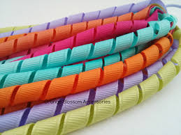 korker ribbon korker ribbon tutorial make hair accessories and embellish