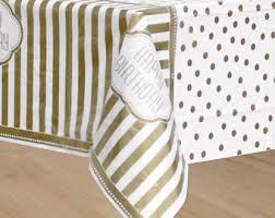 gold polka dot table cover disney minnie mouse birthday party white polka dot plastic table