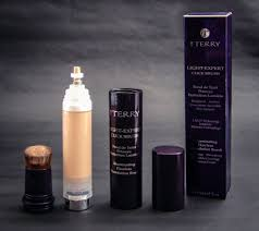 by terry light expert perfecting foundation brush by terry click expert foundation apricot light swatch archives
