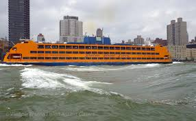 staten island ferry wind against current