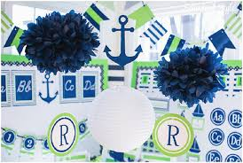 Preppy Nautical Classroom Theme SchoolgirlStyle