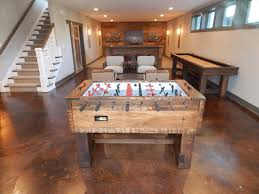 space needed for foosball table olhausen breckenridge foosball table robbies billiards