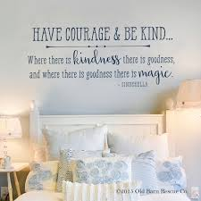 have courage and be kind cinderella wall art quote zoom