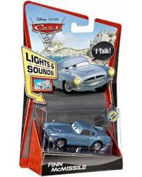 fin mcmissile great deal on disney cars cars 2 lights sounds finn mcmissile 1