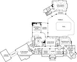Garage Pool House Plans by Best 10 House Plans With Pool Ideas On Pinterest Sims 3 Houses