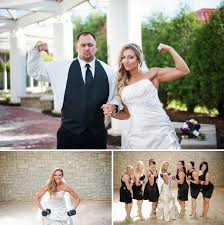 themed weddings how to a fitness themed wedding bumps and bottles