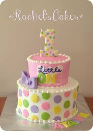 1st Birthday Cake Polka Dot 1st Birthday Cake Torturi Simple Si Dragute