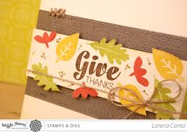 thanksgiving sentiment thanksgiving ideas with waffle flower crafts patterned papered