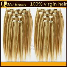 real hair extensions light color personalized european real hair clip in hair