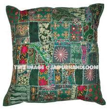 24x24 Decorative Pillows 24x24 Inch Vintage Patchwork Throw Pillows Patchwork Pillows Cushion