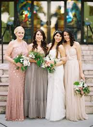 papell bridesmaid dress 35 ideas for mix and match bridesmaid dresses