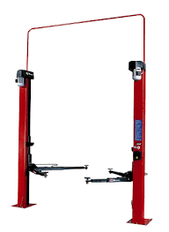 sol 3000 electro mechanical two post lifts for cars up to 3 t