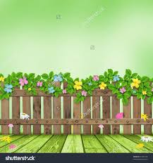 Christian Home Decor Wholesale Wooden Fence With A Flower Garland On The Background Of Summer
