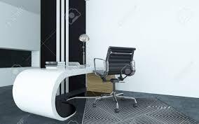 bureau blanc moderne modulaire courbé bureau blanc moderne dans un bureau avec un argent