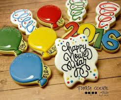 new year cookie cutters 186 best cookies new year images on decorated sugar