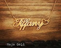 sted name necklace necklace etsy
