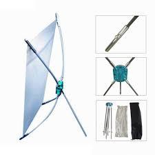 Jual Murah jual rangka stand x banner mini outdoor harga murah ukuran 25 x 40cm