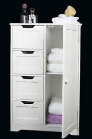 Small White Storage Cabinet by U0026 Door White Wooden Storage Cabinet Bathroom Bedroom Freestanding