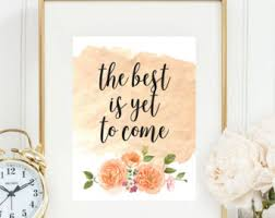 Quotes Wall Decor Framed Quote Etsy