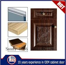 Vinyl Wrap Kitchen Cabinets China Vinyl Wrap Kitchen Cabinet Door For Shaker Doors Styles