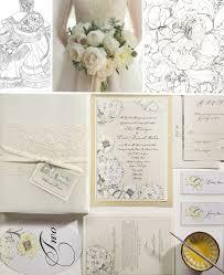 vera wang wedding invitations inspirations white and ivory peony wedding invitationsmomental