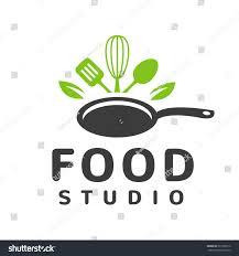 food studio vector logo concept kitchen stock vector 527365516