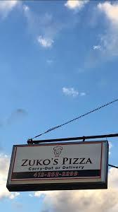 night light coraopolis menu zuko s pizza home coraopolis pennsylvania menu prices