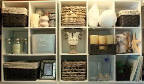 Cube Storage Shelves Organizing A Junk Closet With Cube Storage Units