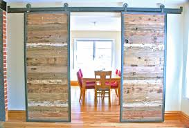 Sliding Barn Door Room Divider by Sliding Interior Doors On Track Gallery Glass Door Interior