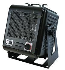 Comfort Zone Heater Fan Comfort Zone Cz245 Electric Flexible Mount Garage Heater With