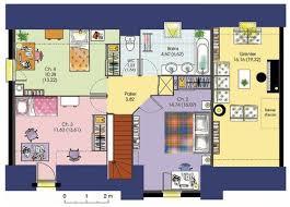 plan maison 120m2 4 chambres plan maison 120m2 4 chambres etage