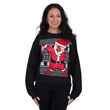 santa sweater s dabbin santa sweatshirt