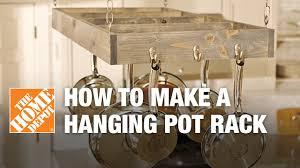 kitchen island hanging pot racks how to a hanging pot rack