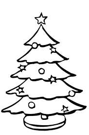 christmas tree coloring pages preschoolers christmas