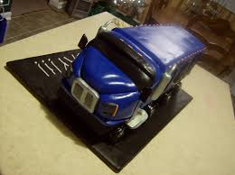 tractor trailer birthday cake 1 pam u0027s homemade cakes flickr