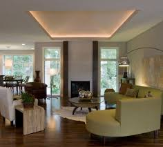 Novelty Coffee Tables by Lighted Tray Ceiling Living Room Modern With Tray Ceiling