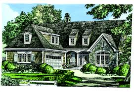 European Home Design Amicalola Cottage Rustic Style House Plan European Plans With Hahnow