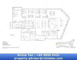 5 bedroom floor plan singapore bedok archipelago condo
