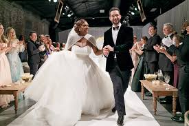 wedding album just married from serena williams and ohanian s wedding