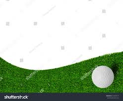 golf ball on green grass background stock photo 516474277