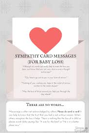 What To Say At Miscarriage Sympathy Card Messages Simple Sympathy