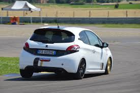 peugeot 208 gti 30th anniversary peugeot 208 gti tgi action on track tg cup youtube