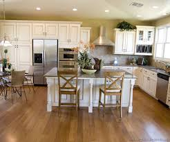 Kitchen Designs White Cabinets Pictures Of Kitchens Traditional White Antique Kitchen