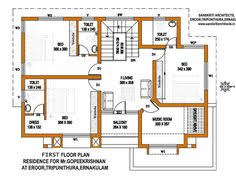 house plans in kerala with estimate three bedrooms in 1200 square feet kerala house plan house