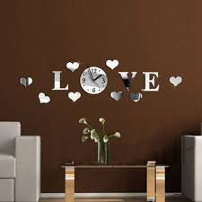 love wall clock promotion shop for promotional love wall clock on