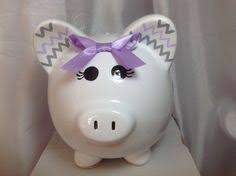Baptism Piggy Bank Night Light Piggy Bank In Gray Personalization Available For