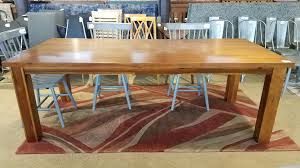 Acacia Wood Dining Table Acacia Wood Dining Table Ballard Consignment