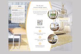 9 interior design flyers