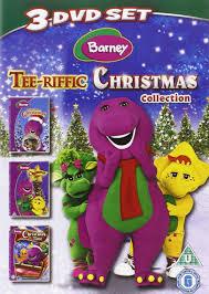 barney tee riffic christmas collection 3 dvd 2010 dvd amazon