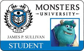 check monsters university id cards u2026
